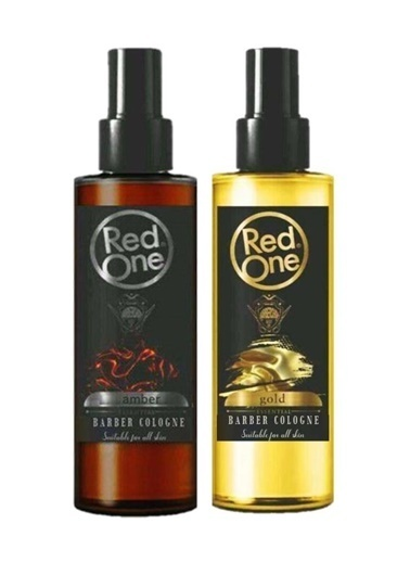 RedOne Red One Amber Kolonya 400 Ml+Red One Gold Kolonya 400 Ml Renksiz